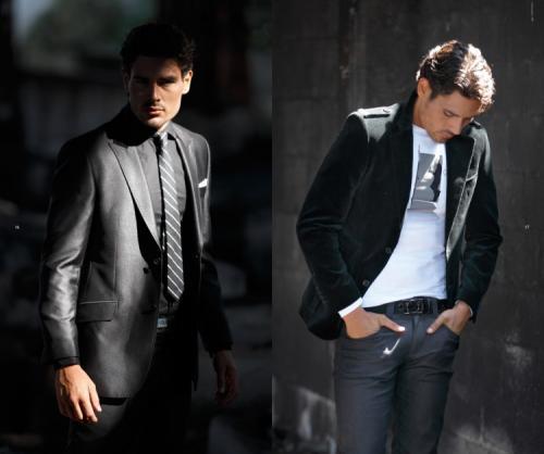 классический стиль одежды для мужчин.